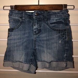 CHEROKEE Denim Shorts, Size Kids Medium